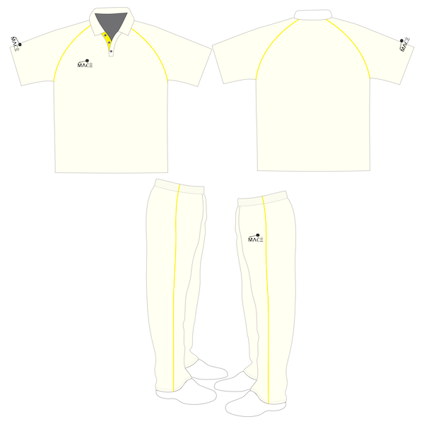 MACE Cricket Uniform - Off White