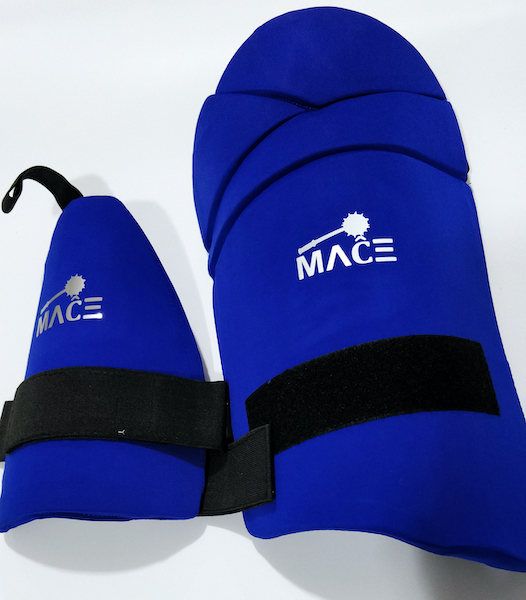 MACE LE Combo Thigh Pad Set - Blue Youth/Boys