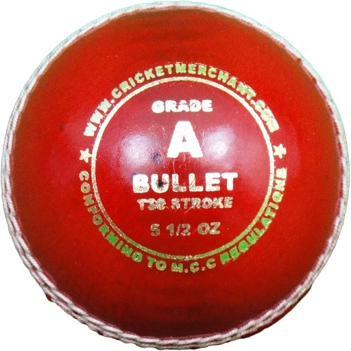 Bullet T30 Stroke - Grade A Cricket Ball
