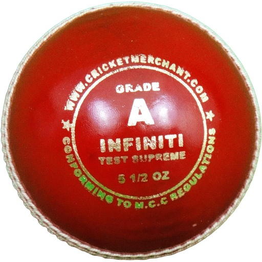 Infiniti Test Supreme - Grade A Cricket Ball
